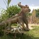 Frank B Ehemann Skulptur Bull Bear Homoborsus (Silber925 poliert und Bronze bemalt)
