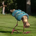 Frank B Ehemann Skulptur ICKS (Bronze bemalt) ca 109-70-92cm auch größer und unbemalt lieferbar