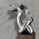 Frank B Ehemann Skulptur VIONES (Silber925 poliert) ca 35-25-25cm