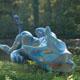 Frank B Ehemann Skulptur ZENTO (Bronze bemalt) ca 235-100-72cm und groesser lieferbar